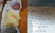 Bé trai 1 ngày tuổi bị bỏ rơi trước cổng chùa kèm lời nhắn