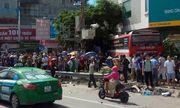Quảng Ninh: Xe khách tông hàng loạt xe máy trên quốc lộ, 5 người trọng thương