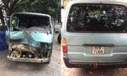 Gia Lai: Tài xế chở gỗ lậu tông thẳng vào xe CSGT dương tính với ma túy
