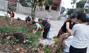 Việt Yên (Bắc Giang): Đạt chuẩn tiêu chí môi trường trong xây dựng Nông thôn mới
