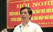 Ông Hoàng Mạnh Phú bị bãi nhiệm chức danh Chủ tịch HĐND huyện Phúc Thọ