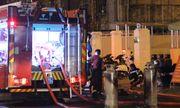 Đà Nẵng: Lửa bao trùm quán nhậu vì nổ bình ga, khách hàng bỏ chạy toán loạn
