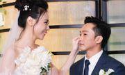 Cường Đôla rưng rưng nước mắt nói điều bất ngờ với mẹ vợ trong lễ cưới