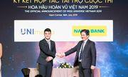 Nam Á Bank - Ngân hàng chính thức đồng hành xuyên suốt cùng cuộc thi hoa hậu hoàn vũ Việt Nam 2019