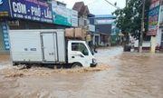 Ảnh hưởng bão số 3: Mộc Châu chìm trong mưa lũ