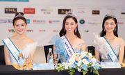 Hoa hậu Lương Thùy Linh xuất hiện rạng rỡ cùng dàn á hậu sau đêm đăng quang