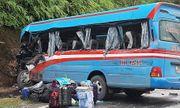 Khởi tố tài xế xe đầu kéo tông xe khách chở đoàn thiện nguyện ở Tuyên Quang