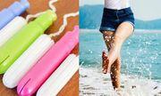 Dùng tampon có thể đi bơi, đi biển được không?