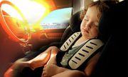 Bẫy tử thần 'bị bỏ lại trong ô tô đóng kín': Chỉ 10 phút, tăng gần 10 độ C