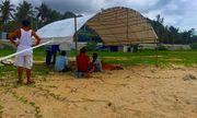 Bình Thuận: Nhậu xong đi tắm biển, 2 du khách bị sóng cuốn trôi