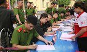 Hà Nội: Hơn 1.000 cán bộ, chiến sỹ tham gia hiến máu