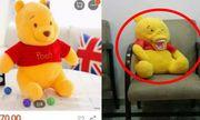 Khách hàng tố hết hồn với chú gấu bông đặt mua trên mạng