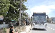 Quảng Trị: Tạm giữ tài xế xe khách dương tính với ma túy chống đối, lao vào xe CSGT