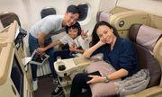 Cường Đô la đi du lịch cùng Đàm Thu Trang và Subeo sau đám cưới