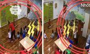 Video: Học sinh mầm non bị cô giáo nhốt trong tủ đồ