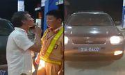 Video: Tài xế ô tô biển xanh chửi bới, tát CSGT Thanh Hoá