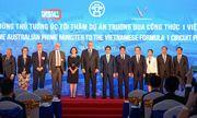 Thủ tướng Úc đến thăm trường đường đua F1 Việt Nam