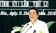 Kiểm tra dấu hiệu vi phạm của Ban Thường vụ Tỉnh ủy và Ban cán sự đảng UBND tỉnh Khánh Hòa