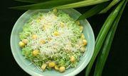 Cách làm xôi lá dứa hạt sen thơm ngon đón thu về