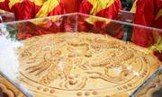Cận cảnh cặp bánh trung thu nặng 3 tạ vừa xác lập kỷ lục Việt Nam