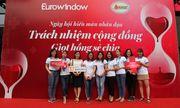 Ngày hội hiến máu nhân đạo Eurowindow huy động được 235 đơn vị máu