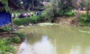 Hiện trường vụ 3 cháu nhỏ đuối nước thương tâm dưới ao ở Điện Biên