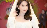 Ngọc Trinh diện váy cưới đẹp lộng lẫy gây bất ngờ