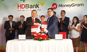 HDBank và MoneyGram ký kết hợp tác chi trả kiều hối tại nhà