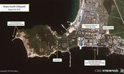Hình ảnh vệ tinh hé lộ việc Triều Tiên đang đóng tàu ngầm phóng tên lửa đạn đạo?
