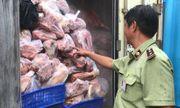 Bình Dương: Phát hiện 3 container chứa 20 tấn thịt, xương lợn thối