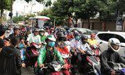 TP.HCM: Nhiều tuyến đường ùn tắc do người dân bắt đầu về quê nghỉ lễ