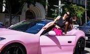 Phạm Hương gây choáng với siêu xe màu hồng và cuộc sống sang chảnh ở Mỹ