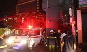 Cháy quán karaoke 8 tầng ở Bắc Ninh, một người tử vong