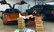 Joyce Phạm - con gái đại gia Minh Nhựa đi siêu xe 80 tỷ
