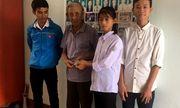 Nhặt được bọc tiền 14 triệu, 2 học sinh ở Hà Tĩnh nhờ xã phát loa thông báo tìm người đánh rơi