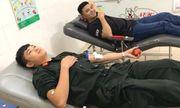 Ba cán bộ công an hiến máu hiếm cứu sống thanh niên bị đâm trọng thương