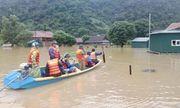 Quảng Bình: 2.945 ngôi nhà bị ngập sâu, tăng cường tối đa lực lượng ứng cứu người dân vùng
