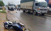 Tin tức tai nạn giao thông mới nhất hôm nay 8/9/2019: Xe container tông chết thầy giáo rồi bỏ chạy