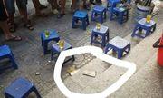 Hiện trường vụ nổ ở chung cư Linh Đàm khiến 4 người bị thương