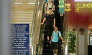 U22 Việt Nam về nước trong đêm, thủ môn Văn Toản suýt bị bỏ lại ở sân bay Nội Bài