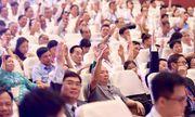 Đại hội Đại biểu Hội Luật gia Việt Nam lần thứ XIII: Nhiều nội dung quan trọng trong phiên thứ Nhất