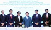 PRO Việt Nam hợp tác với Bộ Tài nguyên & Môi trường vì môi trường bền vững