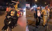 Video: Trư Bát Giới, Tôn Ngộ không bị CSGT thổi phạt vì đi xe máy không đội mũ bảo hiểm