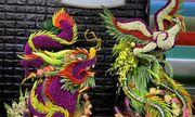 Nghệ thuật tạo hình kết tráp từ tinh hoa nông sản Việt
