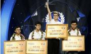 Nam sinh Nghệ An Trần Thế Trung vô địch Đường lên đỉnh Olympia năm thứ 19