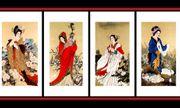Bí ẩn kết cục của Tứ đại mỹ nhân trong lịch sử Trung Quốc