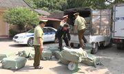 Lạng Sơn: Hơn 2,3 tấn nầm lợn không rõ nguồn gốc bị bắt giữ