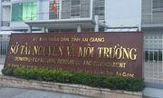 Giám đốc sở TN&MT tỉnh An Giang bị kỷ luật cảnh cáo
