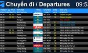 Sân bay Tân Sơn Nhất chính thức ngừng phát thanh thông tin chuyến bay từ ngày 1/10