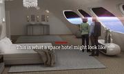Công bố hình ảnh thiết kế của khách sạn đầu tiên trên vũ trụ